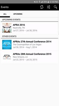 APRA – Partners in Fundraising poster