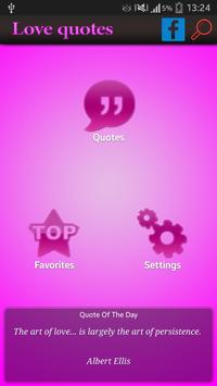 famous Romantic Love Quotes apk screenshot