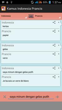 Kamus Indonesia Prancis poster