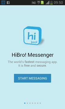 HiBro! Messenger poster