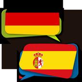 German Spanish Translator icon
