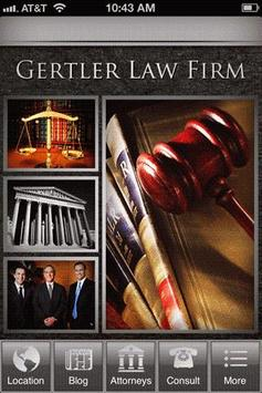 Gertler Law Firm poster