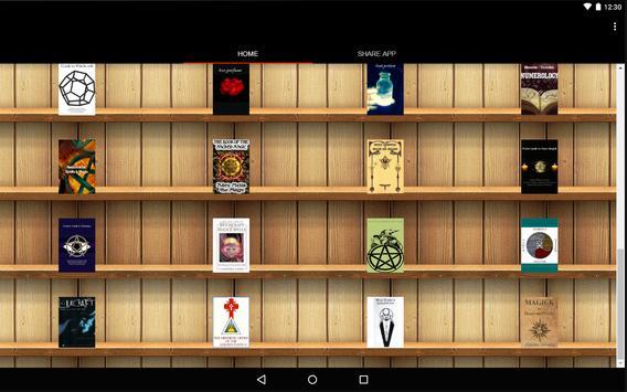 Occult Library apk screenshot
