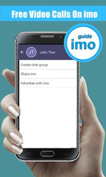 Get Free Video Calls on imo poster