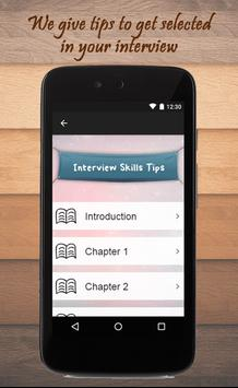 Interview Skills Tips apk screenshot
