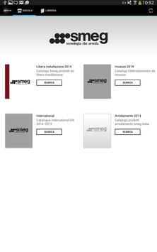 Smeg corporate cataloghi apk screenshot