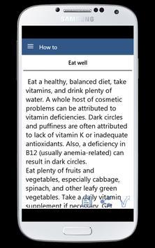 Get Rid From Dark Circle apk screenshot