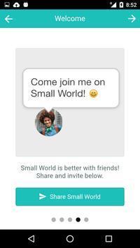 Small World apk screenshot
