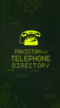 PTCL Telephone Directory poster