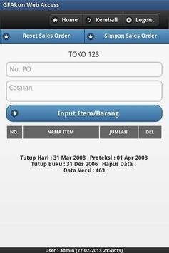 Web Access for GF-Akuntansi apk screenshot