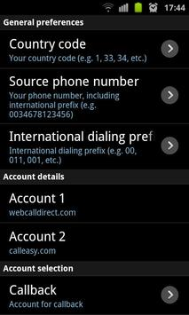 InternetCall apk screenshot