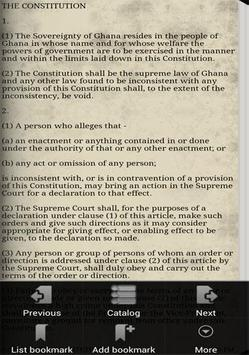 Ghana Constitution apk screenshot