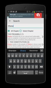 Ghana Constitution 1992 apk screenshot