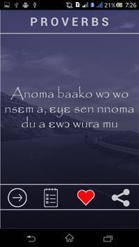 Ghanaian Proverbs apk screenshot