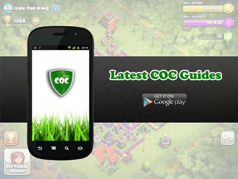 Latest COC Guides apk screenshot