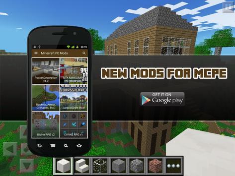 New Mods for MCPE apk screenshot