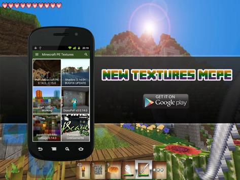 New Textures for MCPE apk screenshot