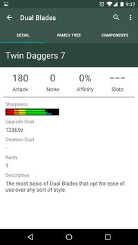 MHGen Database apk screenshot