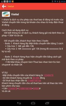 Khuyen Mai Nap The Di Dong apk screenshot
