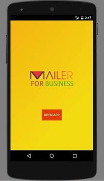 Mailer For Business poster