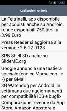 Androidissimo.com RSS apk screenshot