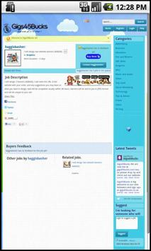 Gigs45Bucks apk screenshot