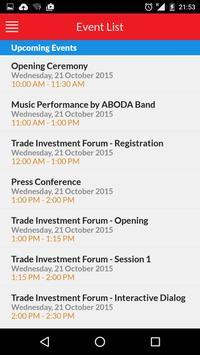 Tradexpo Indonesia apk screenshot