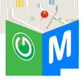 My Location Sender icon