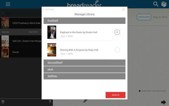eBréad Reader apk screenshot