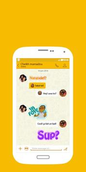 Ginger Messenger apk screenshot