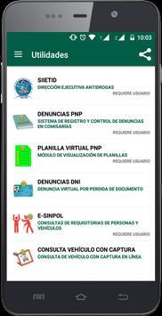 PERÚ CONTRA LAS DROGAS apk screenshot