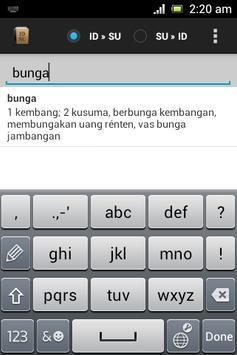 Sundanese Dictionary poster