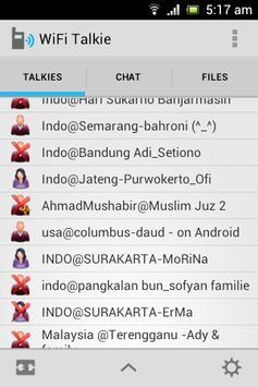 WiFi Talkie apk screenshot