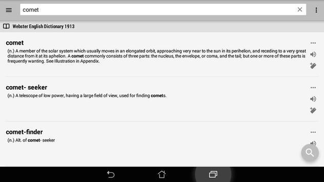 monodict - PDIC dictionary apk screenshot