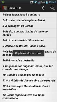 Bíblia CCB apk screenshot
