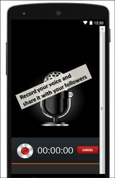 Voice apk screenshot