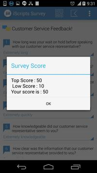 iScripts Survey apk screenshot
