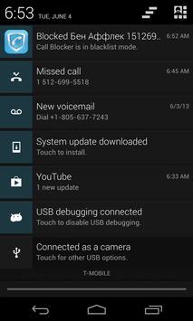 Call Blocker and Text Blocker apk screenshot