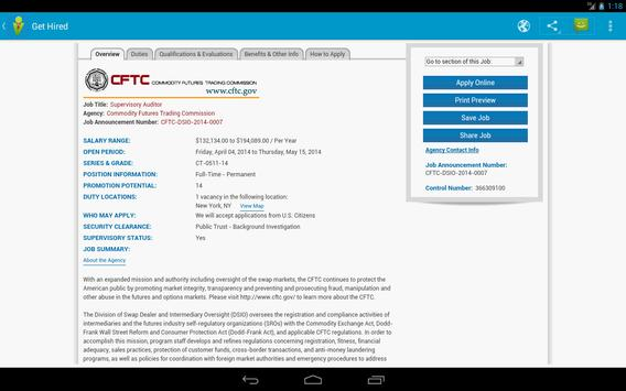 Get Hired - Job Search apk screenshot