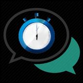 DelaySms: Schedule text icon