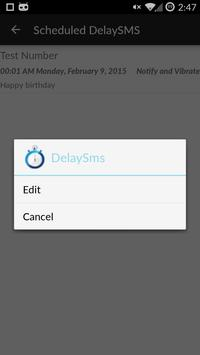 DelaySms: Schedule text apk screenshot
