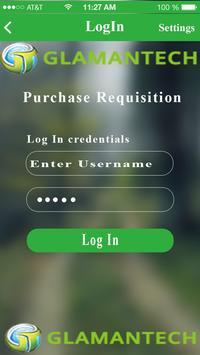 Purchase Requisition apk screenshot