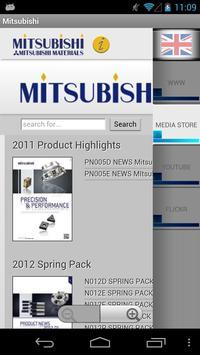 Mitsubishi Cutting Calculator apk screenshot