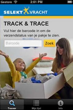 Selektvracht Track and Trace poster