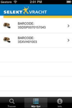 Selektvracht Track and Trace apk screenshot
