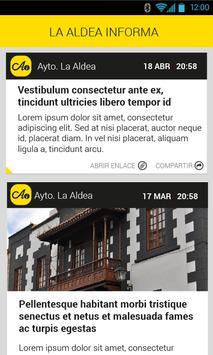 La Aldea Informa apk screenshot