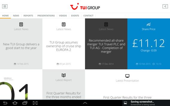 TUI Group IR Briefcase poster