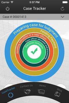 Visa Case Tracker App poster