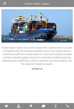 Global Freight Logistic poster