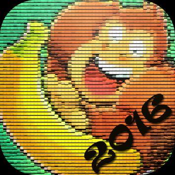 Guides Banana Kong 2016 poster